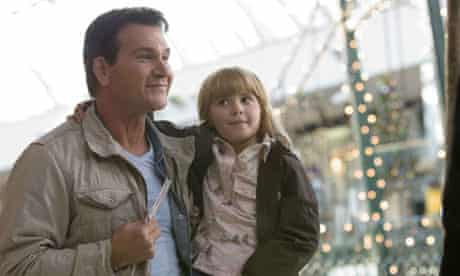 Silly season … Patrick Swayze and Amy Schlagel in Christmas in Wonderland (2007)