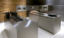 Steel yourself … a Bulthaup kitchen