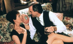 Jamie Lee Curtis and John Cleese in the film of A Fish Called Wanda (1988).