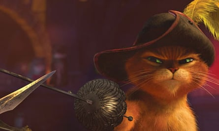 Puss In Boots Review Antonio Banderas The Guardian