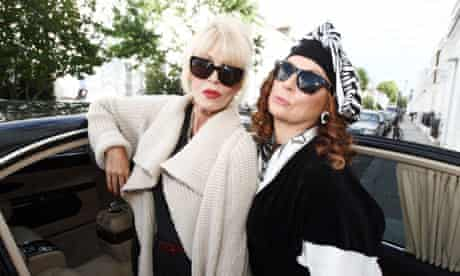 Joanna Lumley (left) and Jennifer Saunders reunited for an Absolutely Fabulous Christmas special