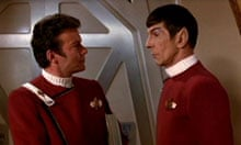 Set phasers to stunning … Kirk and Spock in Star Trek II: The Wrath of Khan