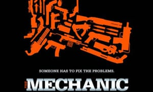The poster for The Mechanic