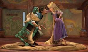 Disney's Tangled – Rapunzel in gender-neutral form