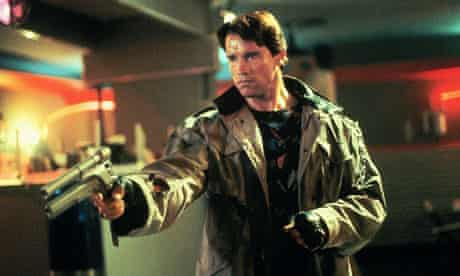 Metal heavy ... Arnold Schwarzenegger in James Cameron's original Terminator (1984).
