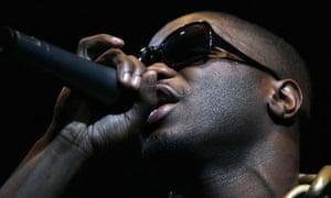 British rapper Lethal Bizzle performs on