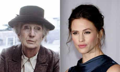 Miss Marple, as played by Joan Hickson, and Jennifer Garner