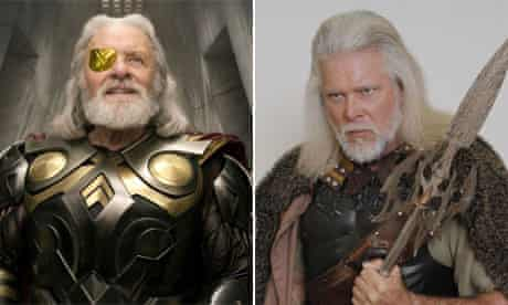 Thor and Almighty Thor