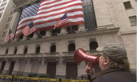 Shake the money-makers ... Michael Moore shouts down the banks in Capitalism: A Love Story