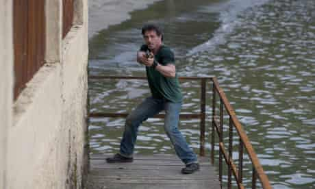 Nu Image have gone after film fans accused of downloading The Expendables illegally.