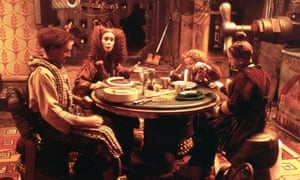 Polygram's 1997 film of The Borrowers, starring Jim Broadbent (left).