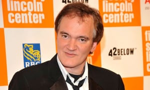 Quentin Tarantino, whose completed script for Django Unchained ended up in the hands of the bloggers