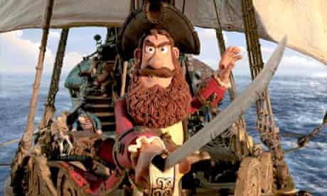 Hugh Grant plays a courageous captain in The Pirates! in an Adventure with Scientists