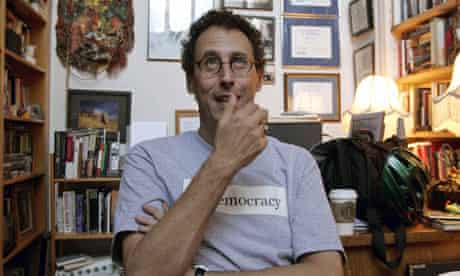 US playwright Tony Kushner, who has been refused an honorary degree by City University of New York