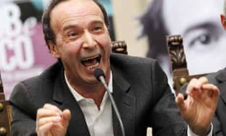Comic booked ... Italian actor Roberto Benigni has bagged a role in Woody Allen's next film.