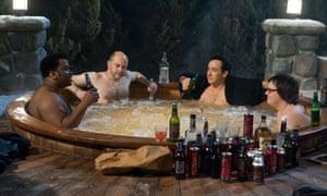 Treading water ... Hot Tub Time Machine was shot through with nostalgia