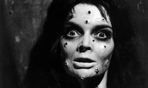 Barbara Steele in Mask of Satan (aka Black Sunday, aka Mask of the Demon).