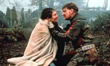 A still from Henry V, directed by Kenneth Branagh