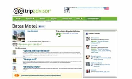 Trip Advisor: Bates Motel