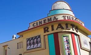 The Rialto cinema in Casablanca