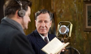 Colin Firth (left) and Geoffrey Rush in The King's Speech