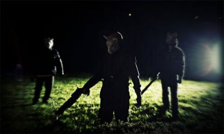 Night terrors ... You're Next, showing at the Toronto film festival