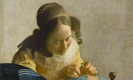 'Obsessive purpose' ... Johannes Vermeer's The Lacemaker.