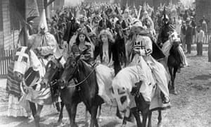 Period drama … a still from The Birth of a Nation (1915).