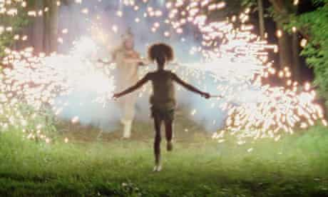 Sparks of brilliance … Quvenzhané Wallis as Hushpuppy in Beasts of the Southern Wild.