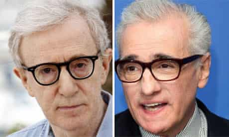 Directors Guild of America award nominations: Woody Allen and Martin Scorsese