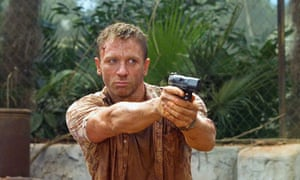 Depth charge … Daniel Craig, aka the 'blond Bond', in Casino Royale (2006).