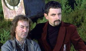 Time team … Tony Robinson and Rowan Atkinson in Blackadder: Back and Forth.