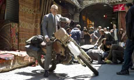 Skyfall … in the ascendancy at the UK box office.