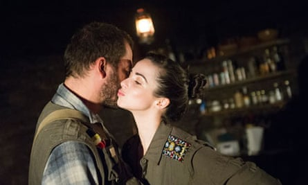 Mysterious girl … Dominic West and Laura Donnelly in Jez Butterworth's The River.