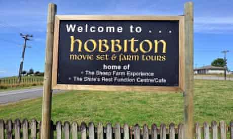 Hobbiton movie set and farm