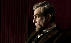 Diplomacy … Daniel Day-Lewis as the titular US president in Lincoln.