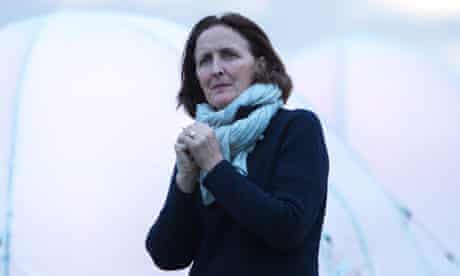 Rime scheme … Fiona Shaw at Peace Camp 2012.