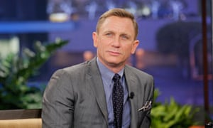 On a role … Daniel Craig on The Tonight Show with Jay Leno on Wednesday.