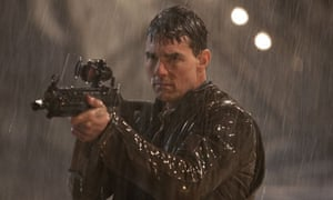 Under the gun … Tom Cruise in Jack Reacher.