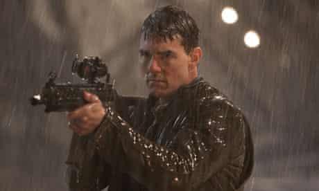 Under the gun … Tom Cruise in Jack Reacher.