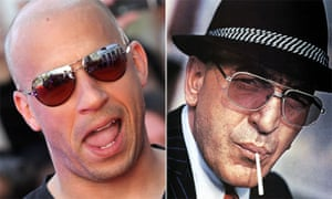 Who loves ya, baby? … Vin Diesel and, left, Telly Savalas as Kojak.