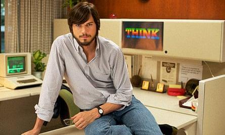 Reboot … Ashton Kutcher as Apple mastermind Steve in a screenshot for jOBS released by Sundance.