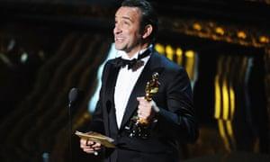 Oscars 2012: Jean Dujardin wins the best actor Oscar for The Artist