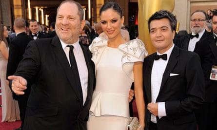 Oscars 2012: Harvey Weinstein, Georgina Chapman, Thomas Langmann