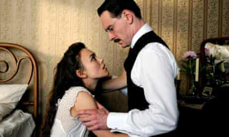 A Dangerous Method - Keira Knightley and Michael Fassbender