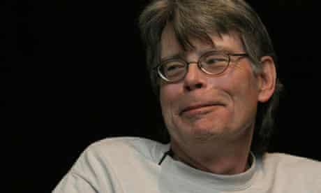 The Dark Tower author Stephen King.