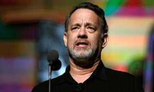 Tom Hanks is the latest prominent liberal to be targeted by rightwing US commentators