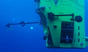 James Cameron Deepsea challenger test
