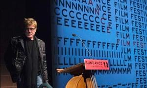 Robert Redford at Sundance 2012