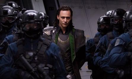 Tom Hiddleston in Avengers Assemble